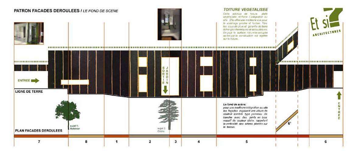 Maison ossature bois – Ain