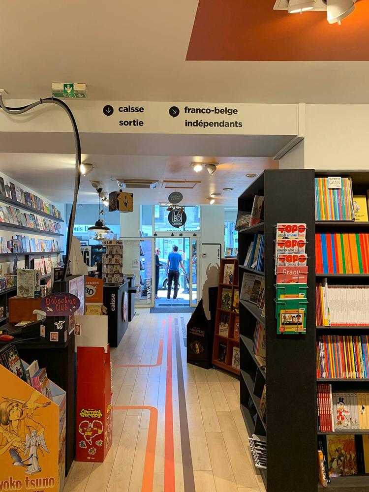 LA BD – boutique agencement intérieur / Lyon 4