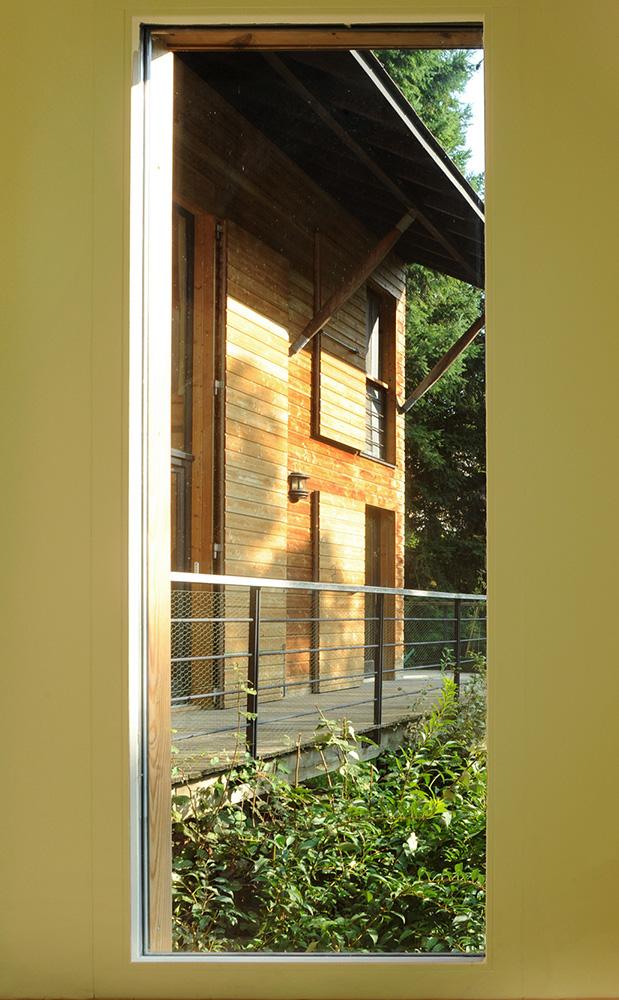 extension Bois – maison Tectonique – Rhône