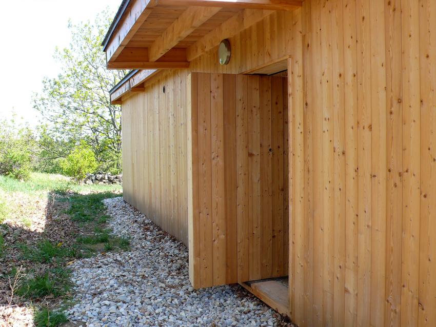 Dépendance bois Ardèche