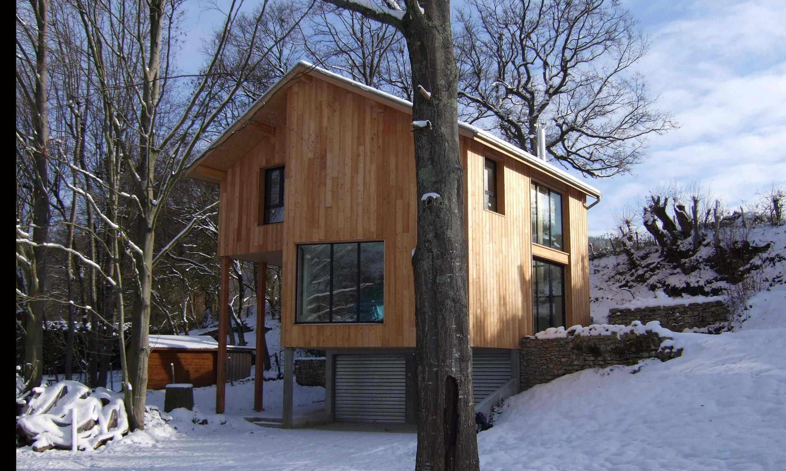 Maison bois Isère