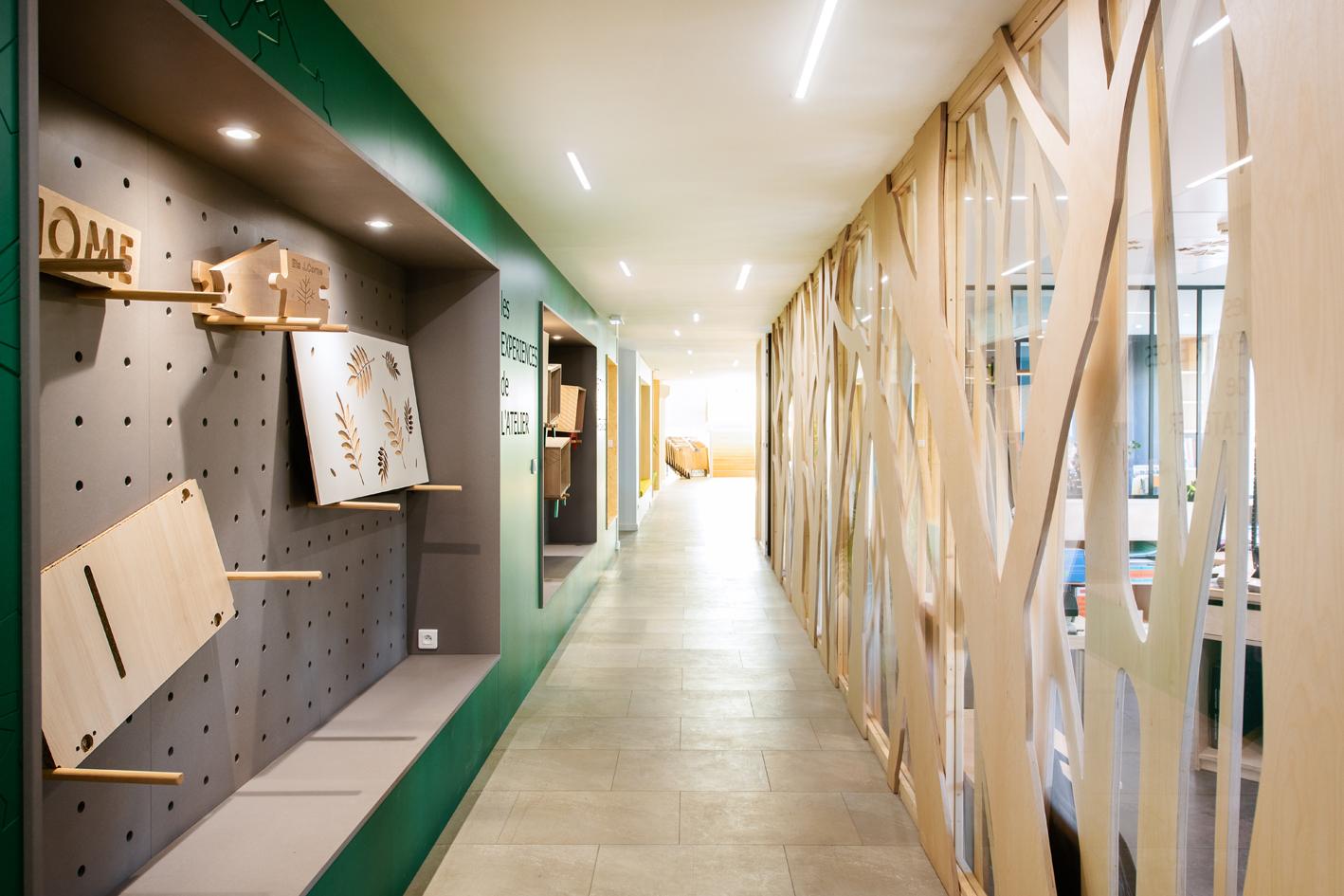 Show-room bureaux Corne Vénissieux