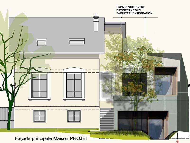 extension maison classique