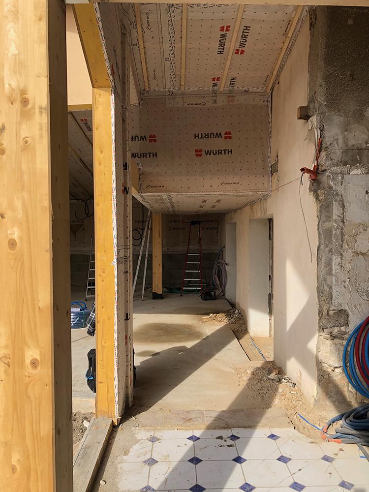 Rénovation Extension en Shu Sugi Ban