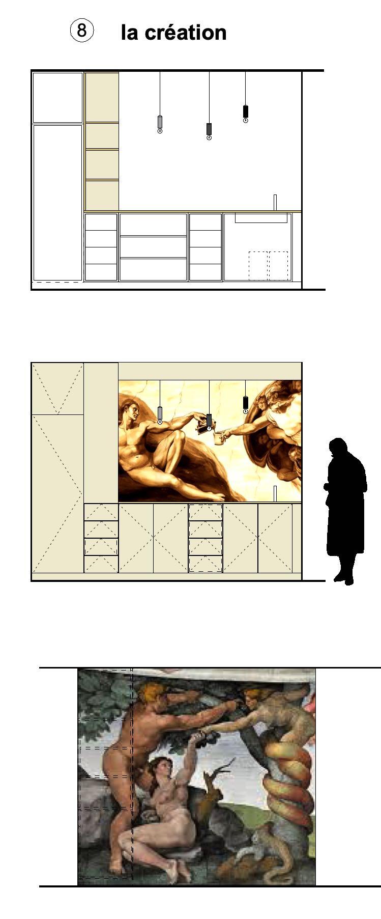 LA CREATION / Bureaux Chapelle Ecully