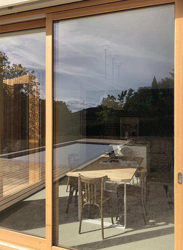 maison contemporaine bois Lyon