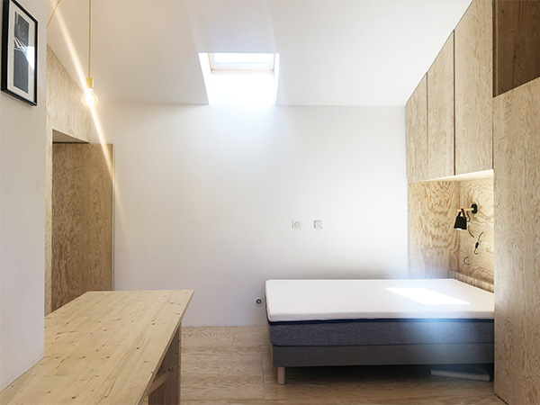 chambre tout bois